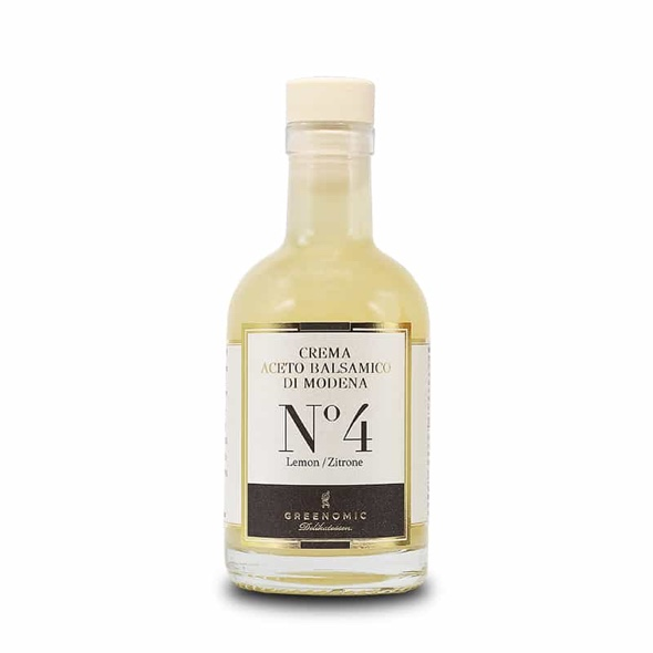 1345 - No. 4 Crema Balsamico Lemon 200 ml - Greenomic