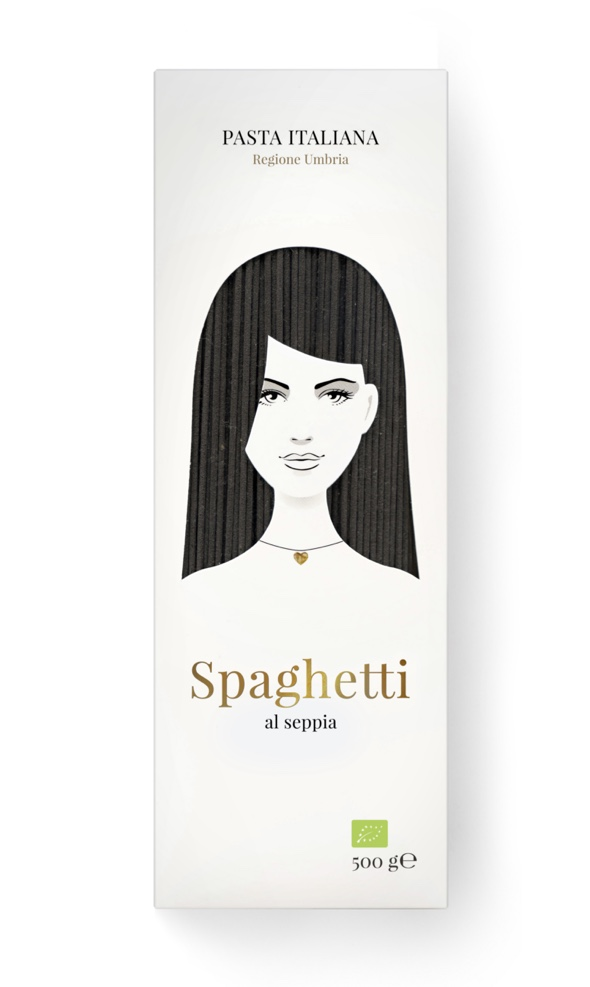 P15 - Good Hair Day Pasta BIO Spaghetti al seppia