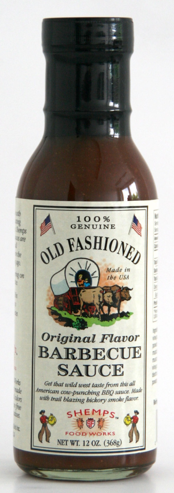 S1849 - Original Flavour Barbecue Sauce 368 g - Shemps Food Works